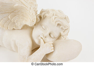 Angel with Curls