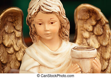 angel with pot
