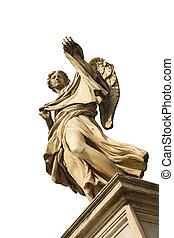 Angel with the Sudarium (Veronicas Veil) on the bridge of Caste