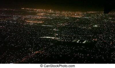 Angeles,  Los, Flyvemaskine, landgangen