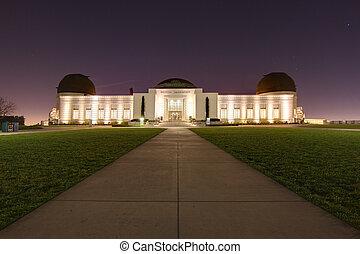 angeles, observatorio, los, california, señal, griffith