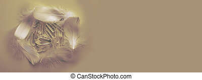 Angelic Feather Circle for Quartz  Healing Crystals