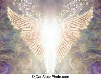 Angelic Winged Light Being Concept