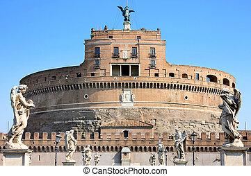 angelo, ローマ, sant', イタリア, castel