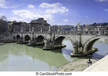 angelo, 橋, ローマ, san