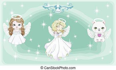 angelo, set
