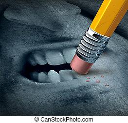 Anger Management - Anger management mental health concept...
