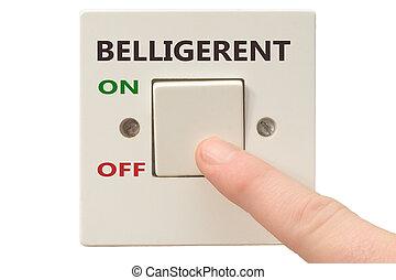 Anger management, switch off Belligerent - Turning off ...