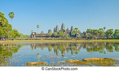 angkor , θερίζω , siem, κρόταφος , wat , cambodia.