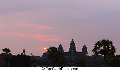 Angkor temple complex - Angkor Wat, part of Khmer temple...