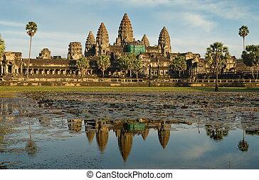 Angkor Wat 490 - Great Angkor Wat temple in Cambodia