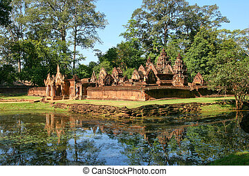 Angkor Wat Cambodia - One of the temples of the Angkor Wat...