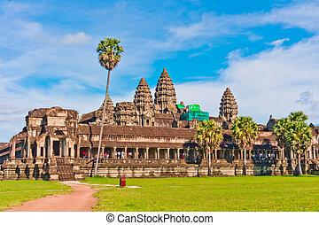 Angkor Wat, Cambodia, Southeast Asia - Angkor Wat, near Siem...