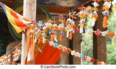 Angkor Wat in Cambodia decorating in a Buddhist temple FULL...
