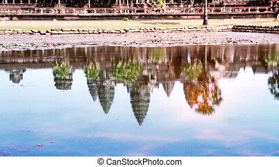 Angkor wat , Siem reap, Cambodia,