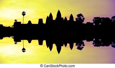 Angkor Wat Sunrise - Timelapse of sunrise at Angkor Wat...