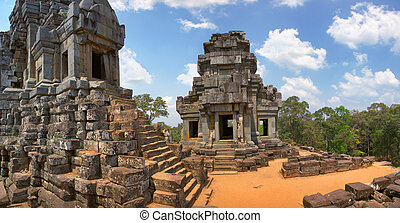 Angkor Wat -Ta Keo temple Cambodia