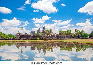 Angkor Wat Temple, Siem reap, Cambodia