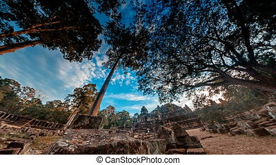 Angkor what timelapse using fisheye lens - Angkor what...
