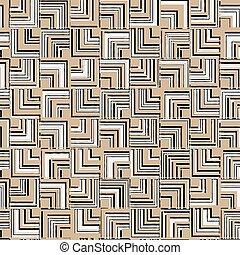 angle., 패턴, 떼어내다, 사각형, seamless