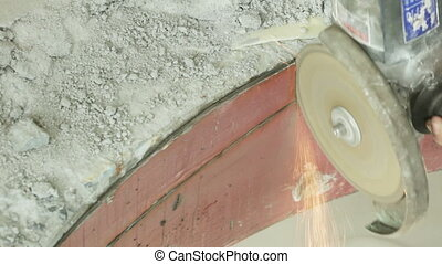 Angle Grinder and demolition hammer