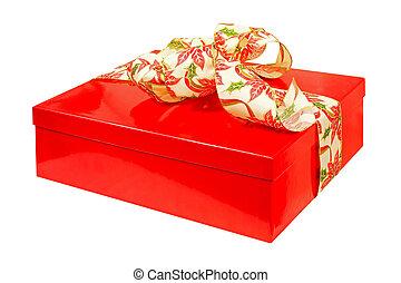 angle, rouges, cadeau