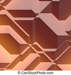 Angled geometric abstract background