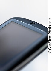 Angled PDA - An angled view of an HTC Touch PDA device,...