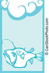 anglerfish, profundo