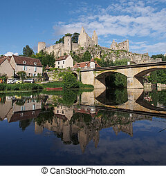 Angles-sur-Anglin, Vienne , France - Angles sur Anglin has ...