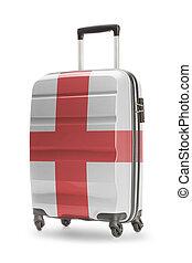 angleterre, national, -, il, drapeau, valise