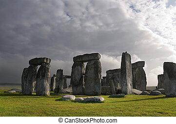angleterre, royaume-uni, stonehenge