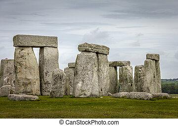 angleterre, stonehenge, royaume-uni