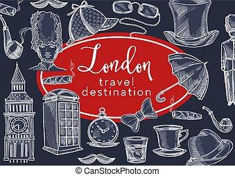 anglia, przebądźcie cel, symbolika, kultura, londyn, ...