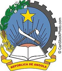 Angola Coat vector illustration EPS10