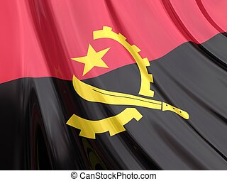 angola markierungsfahne