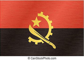 Angola vector flag
