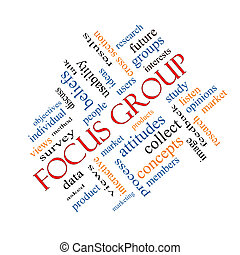 angolato, concetto, parola, focalizzi gruppo, nuvola