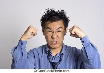 Angry Adult - Angry Asian Adult