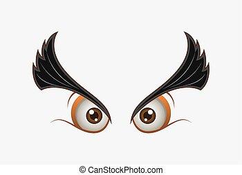 Angry Animal Eyes