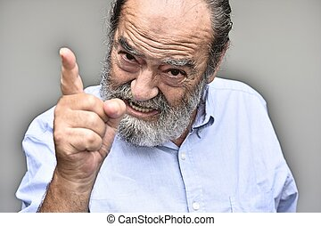 Angry Bearded Old Person