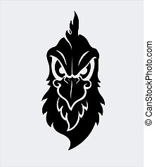 Angry Bird Mascot Vector Character
