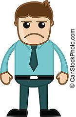 Angry Boss Vector