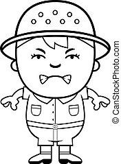 Angry Boy Explorer