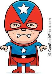 Angry Boy Superhero