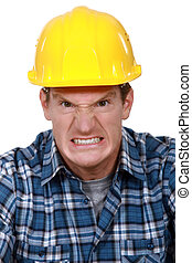 Angry builder