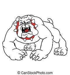 angry bulldog.bulldog cartoon.