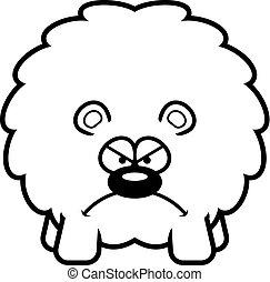 Angry Cartoon Bear