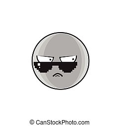 Angry Cartoon Face Expression People Emoticon Emoji
