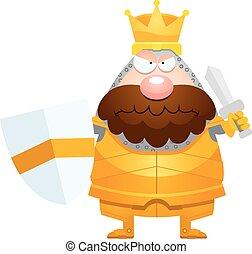 Angry Cartoon King
